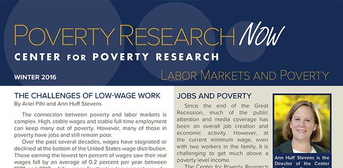 Image of Poverty Research Now: Labor Markets and Poverty