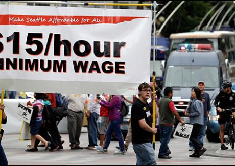 Image of Campaign seeks to push Seattle minimum wage to $15