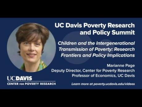Children and the Intergenerational Transmission of Poverty