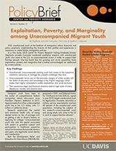 Image of Download Brief on Unaccompanied Migrant Youth
