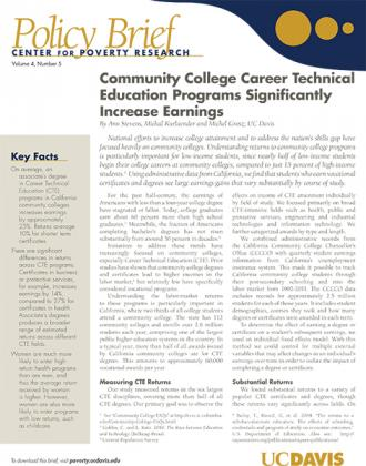 Image of Download Brief on Career Technical Education