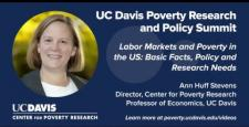 Labor Markets and Poverty in the US: Basic Facts, Policy and Research Needs