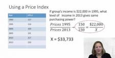 Week 2: Module 2.4 Using a Price Index to Compare Income and Poverty Thresholds