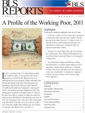 Image of Bureau of Labor Statistics Report