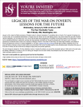 Image of Legacies of the War on Poverty, Lessons for the Future