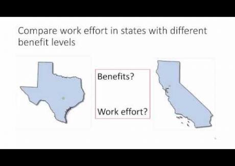 Week 8: Module 8.3 Empirical Estimates of Work Disincentive Effects