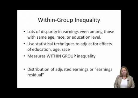 Week 3: Module 3.2 Across- versus Within-group Inequality