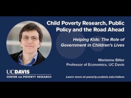 Helping Kids: The Role of Government in Children's Lives