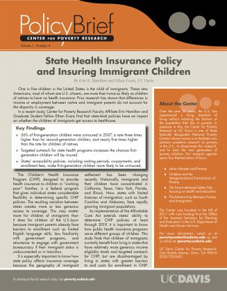 State health insurance policy and insuring immigrant for Policy brief example template