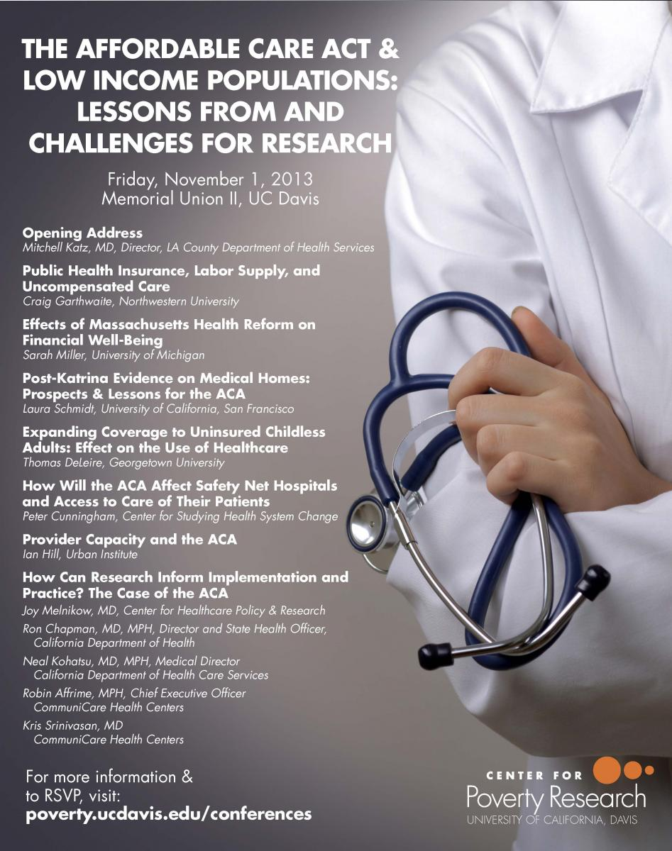 Conference: The Affordable Care Act & Low Income ...
