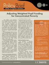 Image of Download Adjusting Weighted Pupil Funding for Concentrated Poverty in California Schools